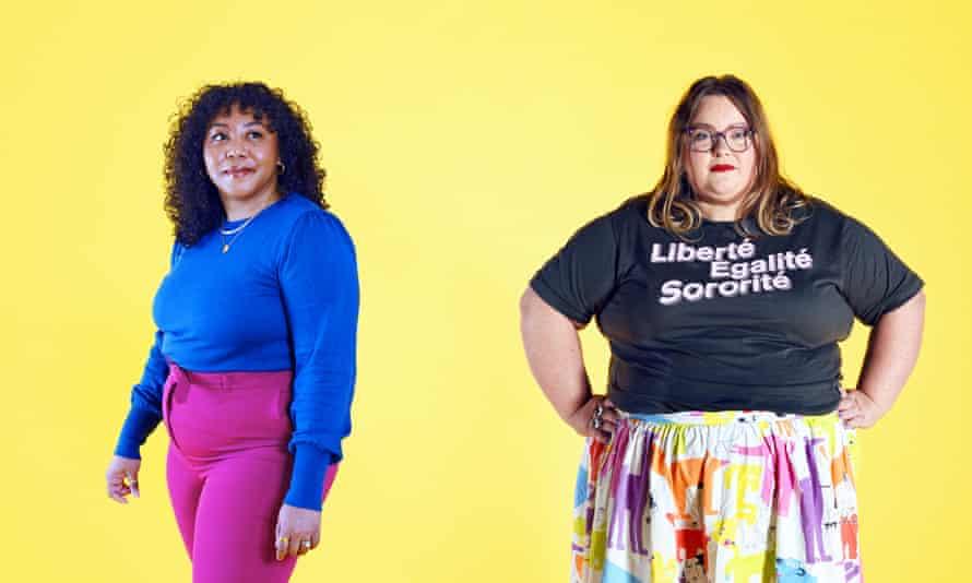 Fashion blogger Nicole Ocran, left, and influencer expert Kat Molesworth, cofounders of The Creator Union.