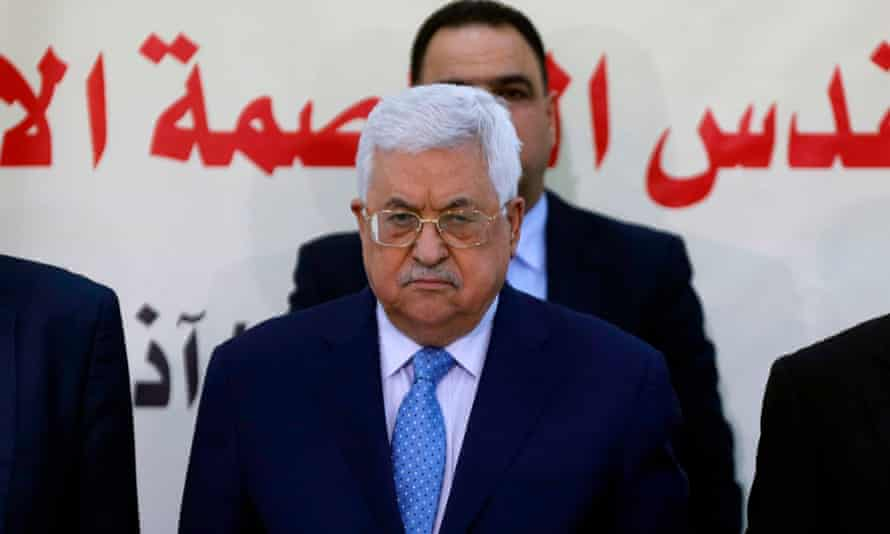 """President Mahmoud Abbas called US ambassador to Israel David Friedman a """"settler"""", """"son of a dog"""" to Palestinian leaders in Ramallah on Monday."""