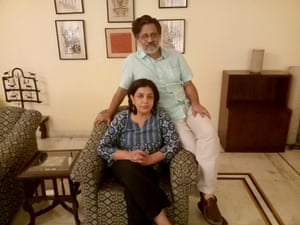 Film-makers Saba Dewan and Rahul Roy