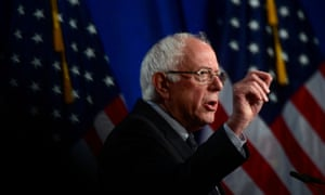 """FILE PHOTO: Sanders delivers a speech on """"Medicare for All"""" at George Washington University<br>FILE PHOTO: U.S. presidential candidate Senator Bernie Sanders (I-VT) delivers a speech to defend his support for a sweeping """"Medicare for All"""" healthcare plan at George Washington University in Washington, U.S., July 17, 2019. REUTERS/Erin Scott/File Photo"""