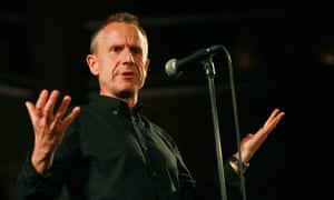 Jeremy Hardy at a War on Want comedy show in London, 2015.