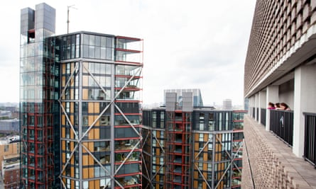 The view of Neo Bankside from the Tate.