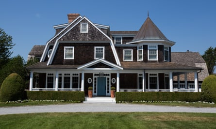 This three-story luxury home in Southampton, New York, can be rented for $395,000 from Memorial Day to Labor Day.