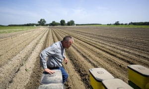 'We're very concerned about tariffs,' said Parrish Akins, on his farm in Nashville, Georgia, who despite the potential effects on his business supports Trump's policy on tariffs.