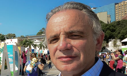 Luiz Loures, outgoing deputy executive director of programme at UNAids