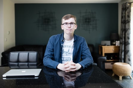 Liam O'Dell, who calls himself 'a person of routine', tracked every mark of the final two years of his degree on a spreadsheet