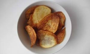 Shaun Rankin's crisps.