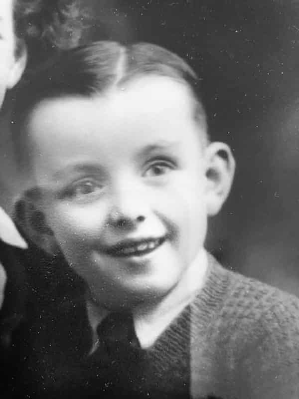 'I'd like to take anti-vaxxers back in time', says Tom Keneally, here aged 5, shortly before he contracted diphtheria.