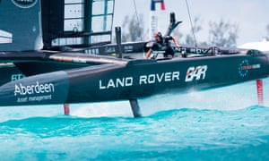 Ben Ainslie's Land Rover BAR defeated Artemis Racing to recover from a difficult start in the America's Cup.