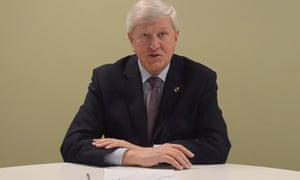 David Hodge, Surrey council's leader
