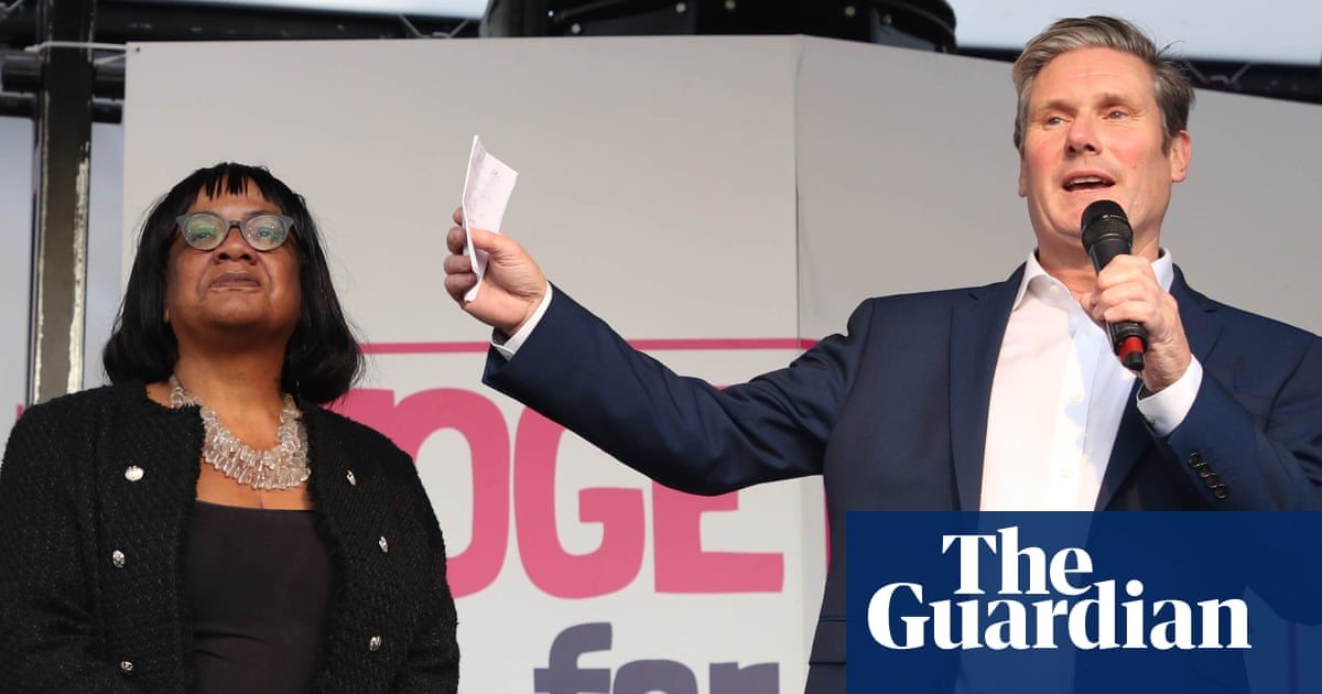 Losing byelection would be 'curtains' for Keir Starmer, says Diane Abbott