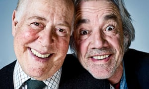 Clive Swift, left, as Roy and Roger Lloyd Pack as Tom in The Old Guys, 2010.