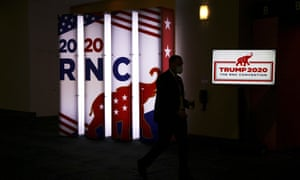 The Republican national convention in Charlotte, North Carolina.