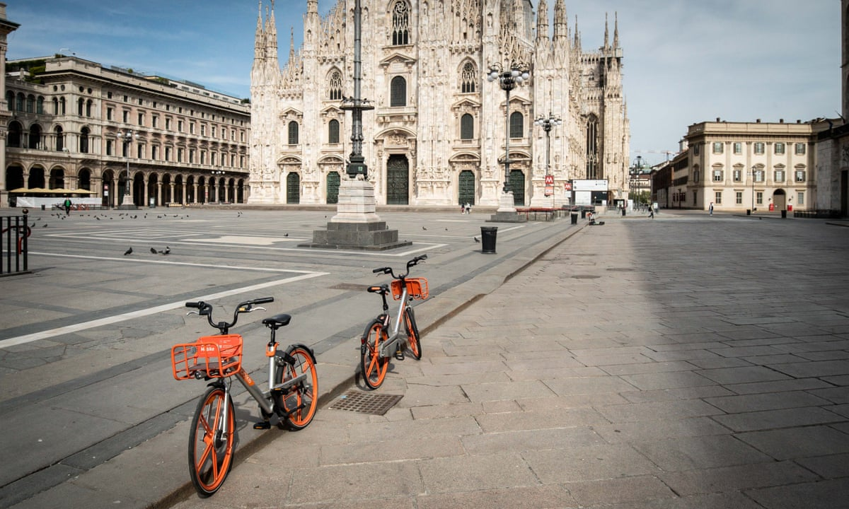 Milan Announces Ambitious Scheme To Reduce Car Use After Lockdown World News The Guardian