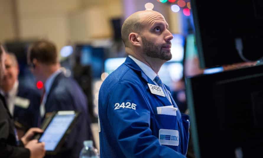 US stock market Standard & Poor Dow Jones