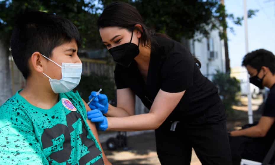 Pfizer vaccine okayed for chidren from 5-11