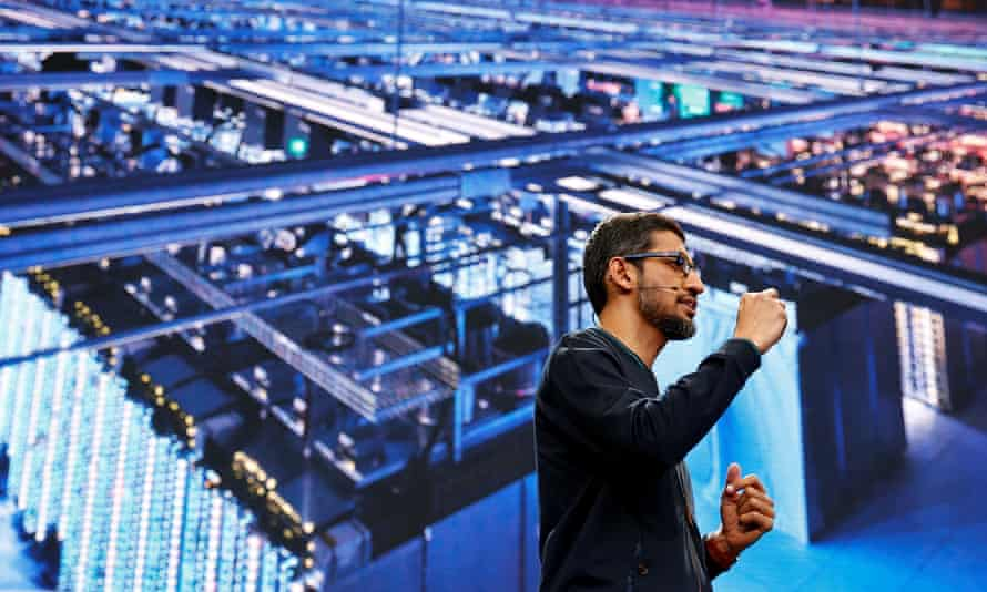 Google CEO Sundar Pichai: 'Humans can achieve a lot more with the support of AI assisting them.'