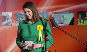 Outgoing Lib Dem leader Jo Swinson, who lost her East Dumbartonshire seat