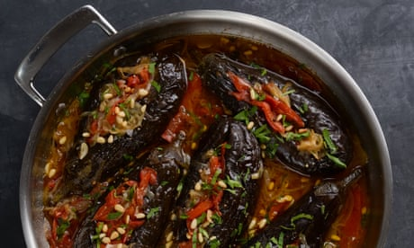 Veganuary: imam bayildi stuffed eggplant recipe