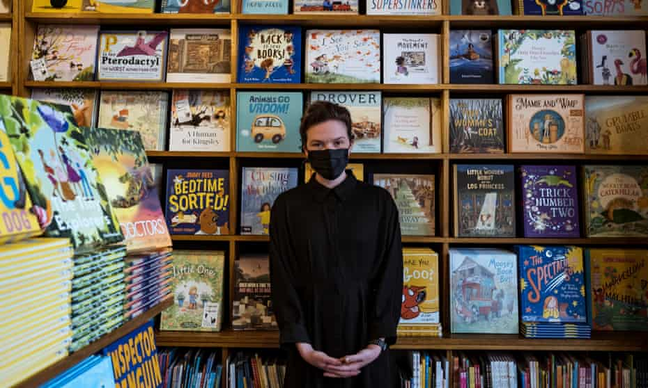 Leesa Lambert, co-owner of the worlds oldest childrens bookstore, The Little Bookroom.