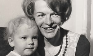 Joan McFarlane with Simon Bostic, the toddler to whom she donated her bone marrow for a pioneering transplant in 1973.