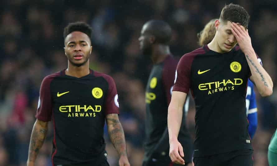 Raheem Sterling and John Stones