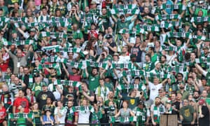 Timbers army: Portland's fans are thought to be the league's best.