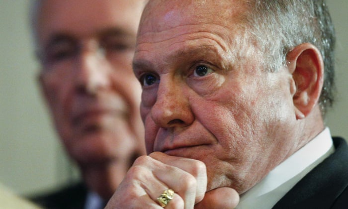 A Trump representative said Roy Moore should step aside if sexual assault allegations against him were true.
