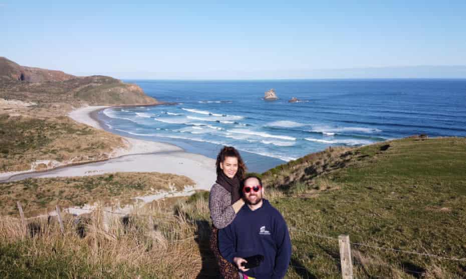 Efrain Vega de Varona and Ingrid Rivera in New Zealand