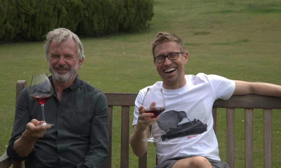 Russell Howard and Sam Neill
