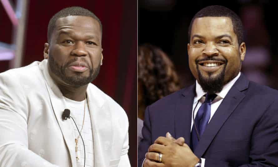 Curtis '50 Cent' Jackson and Ice Cube.