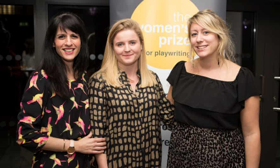 Katie Posner, Ellie Keel and Charlotte Bennett, the team who launched the Women's Prize for Playwriting