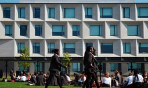 Burntwood school, which won Riba's Stirling prize for the UK's best building