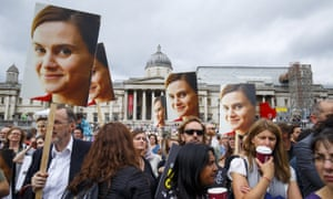The memorial service for Jo Cox in London on 22 June 2016