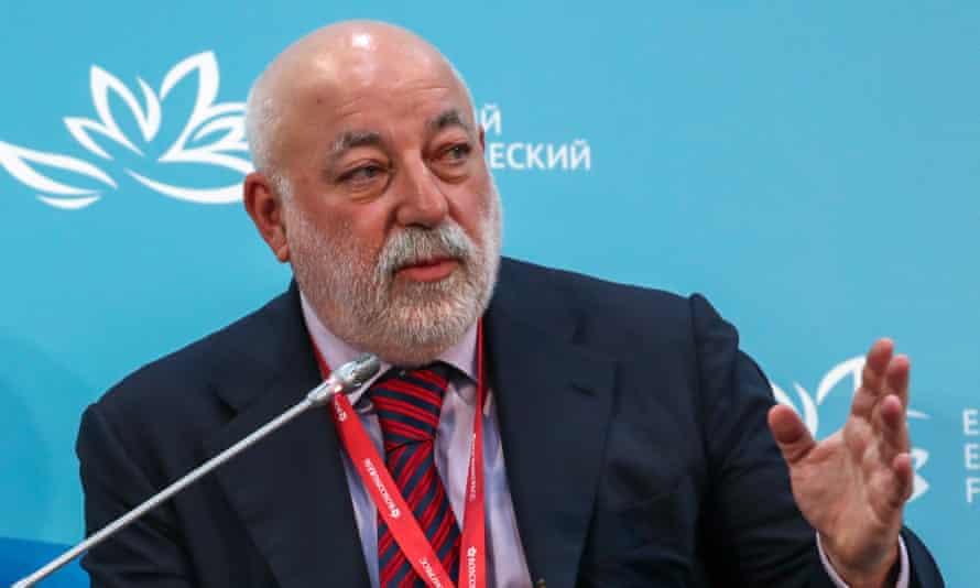 Russian businessman Viktor Vekselberg