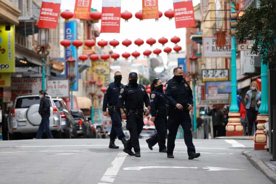 police patrol chinatown