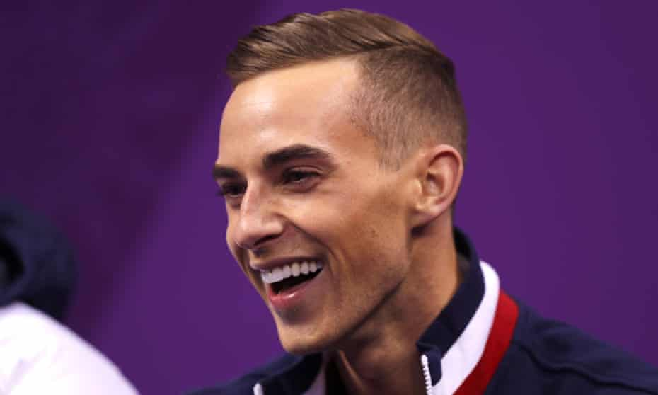 Adam Rippon won bronze for the US in the team event