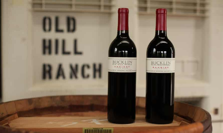Dry-farmed wine from Old Hill Ranch.
