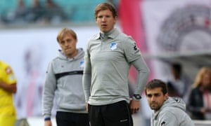 Julian Nagelsmann will become the youngest ever Bundesliga coach when her takes over at Hoffenheim next season.