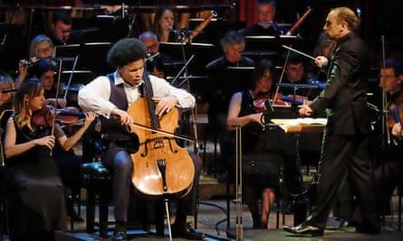 Kanneh-Mason performing at the BBC Young Musician 2016 final.