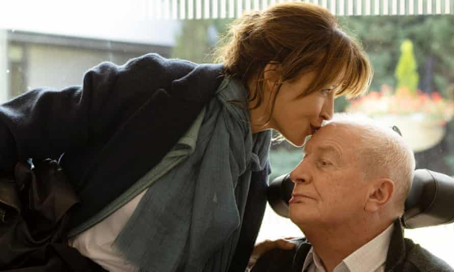 Artistry ... Sophie Marceau, left, and André Dussollier in Everything Went Fine.