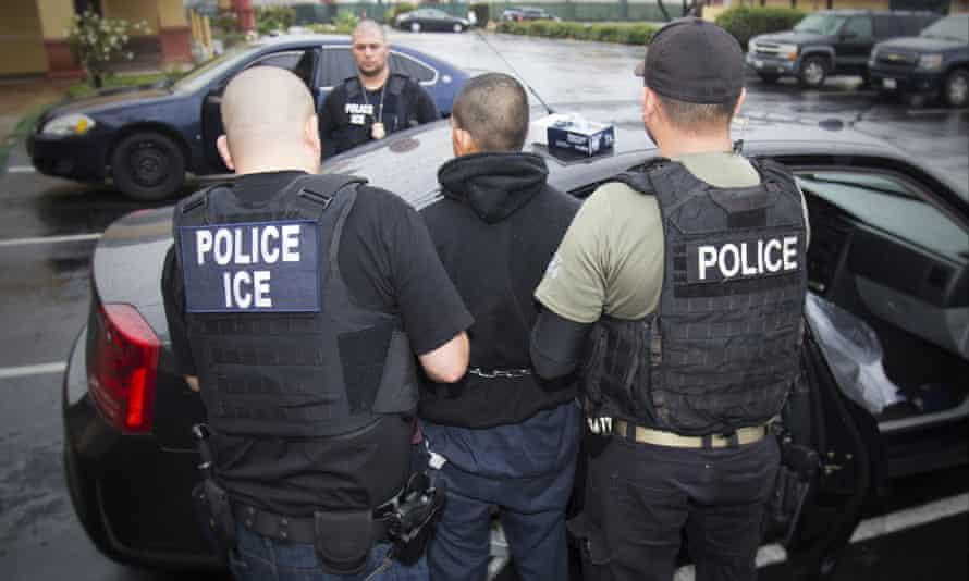 ice immigration arrest