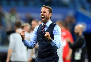 Look what that means to Gareth Southgate.