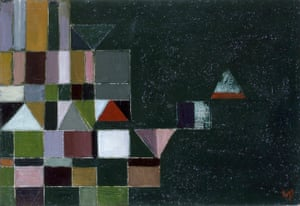 Victor Pasmore's Square Motif Green and Lilac, 1948.