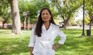 The New Mexico Democrat Deb Haaland