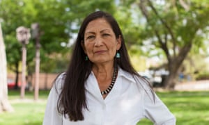 Deb Haaland, New Mexico's former Democratic state party chair, hopes to become the first Native American woman elected to Congress.