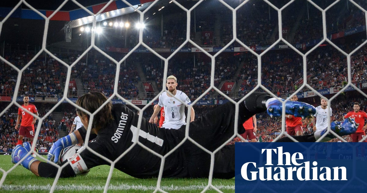 World Cup roundup: Italy equal record despite Jorginho's penalty miss