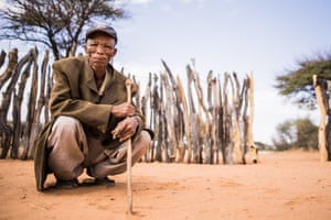 An old Bushman