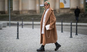 Fashion blogger Aylin Koenig wearing Dr Martens during the recent Berlin fashion week.