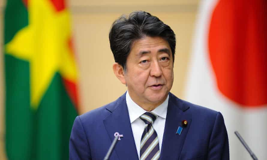 Shinzo Abe has affirmed Japan's policy of accepting almost none of the world's refugees.